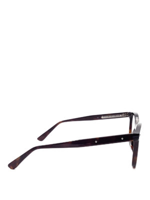 Bottega Veneta: glasses online - Brown round eyeglasses