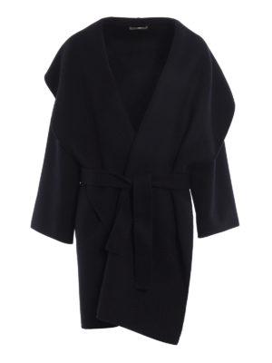 Bottega Veneta: knee length coats - Oversize soft cashmere