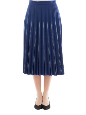 Bottega Veneta: Knee length skirts & Midi online - Pleated wool midi skirt