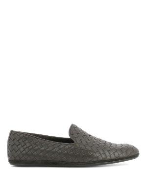Bottega Veneta: Loafers & Slippers - Fiandra Intrecciato leather loafers