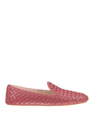 Bottega Veneta: Loafers & Slippers - Fiandra Intrecciato nappa slippers