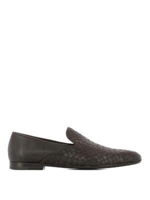 BOTTEGA VENETA: Mocassini e slippers - Slipper Fiandra in pelle intrecciata