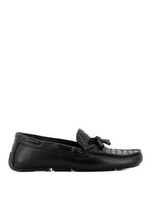 Bottega Veneta: Loafers & Slippers - Intrecciato driver shoes