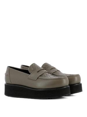 Bottega Veneta: Loafers & Slippers online - Intrecciato detail loafers