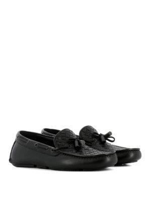 Bottega Veneta: Loafers & Slippers online - Intrecciato driver shoes