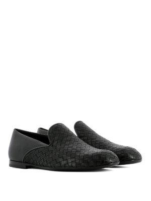 Bottega Veneta: Loafers & Slippers online - Intrecciato napa front loafers