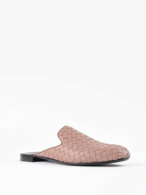 Bottega Veneta: Loafers & Slippers online - Woven leather slippers