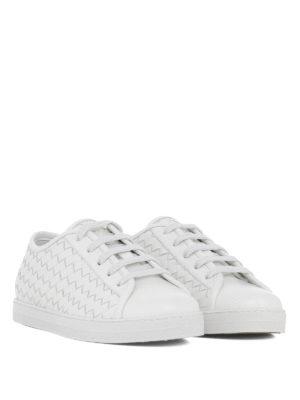 BOTTEGA VENETA: sneakers online - Sneaker Carmel in pelle intrecciata