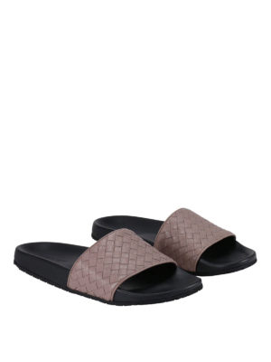 Bottega Veneta: sandals online - Lake open sandals