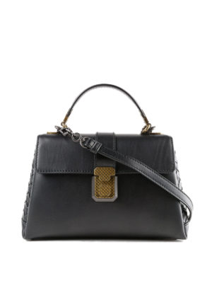 BOTTEGA VENETA: borse a spalla - Elegante borsa Piazza piccola