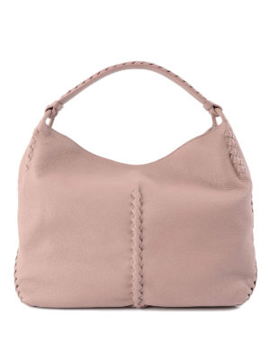 Bottega Veneta: shoulder bags - Intrecciato detail shoulder bag
