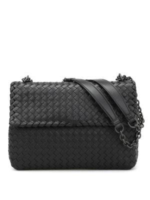 Bottega Veneta: shoulder bags - Medium Olympia cross body bag