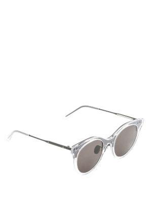 Bottega Veneta: sunglasses - Cat-eye acetate sunglasses