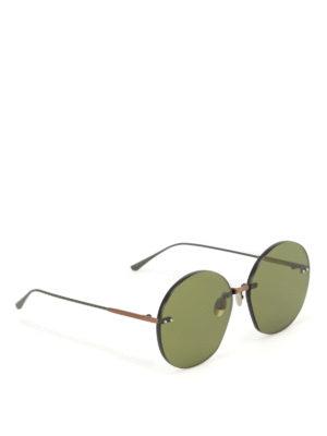 Bottega Veneta: sunglasses - Green lenses sunglasses