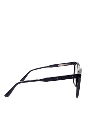 Bottega Veneta: sunglasses online - Woven detail sunglasses