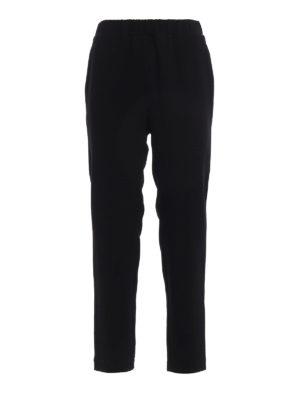 Bottega Veneta: Tailored & Formal trousers - Crepe cady trousers