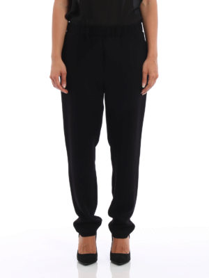 Bottega Veneta: Tailored & Formal trousers online - Crepe cady trousers