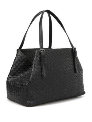 Bottega Veneta: totes bags online - Intrecciato leather tote bag