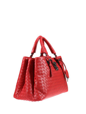 Bottega Veneta: totes bags online - Roma Intrecciato small bag