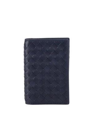 Bottega Veneta: wallets & purses - Intrecciato bifold card holder