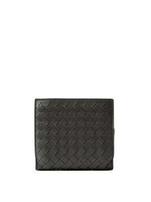 Bottega Veneta: wallets & purses - Intrecciato napa mini wallet