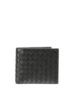 Bottega Veneta: wallets & purses - Intrecciato nappa bi-fold wallet