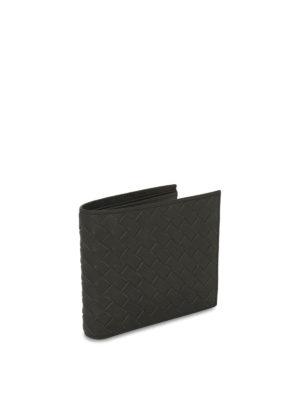 Bottega Veneta: wallets & purses online - Intrecciato leather billfold wallet
