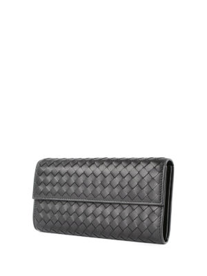 Bottega Veneta: wallets & purses online - Woven nappa wallet