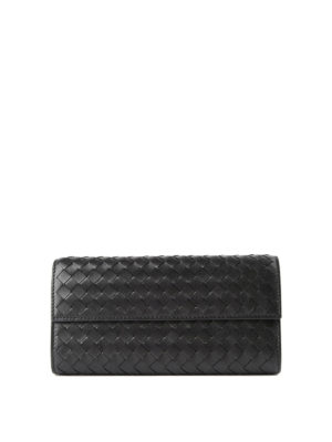 Bottega Veneta: wallets & purses - Woven nappa wallet
