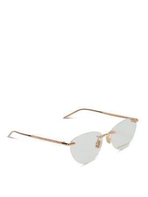 BOUCHERON: Occhiali - Occhiali da vista con aste lavorate