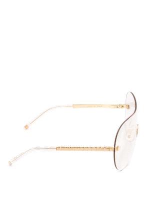 Boucheron: sunglasses online - Transparent mask sunglasses