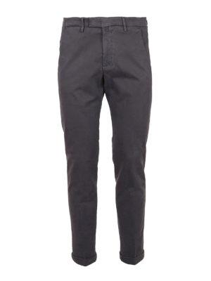 BRIGLIA 1949: casual trousers - Gabardine cotton trousers