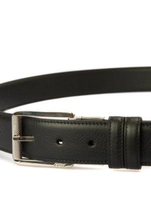 Brioni: belts online - Reversible leather belt