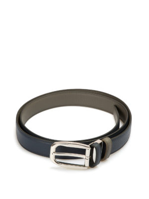 Brioni: belts - Reversible leather belt