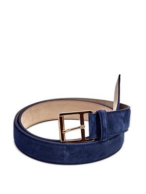Brioni: belts - Suede belt