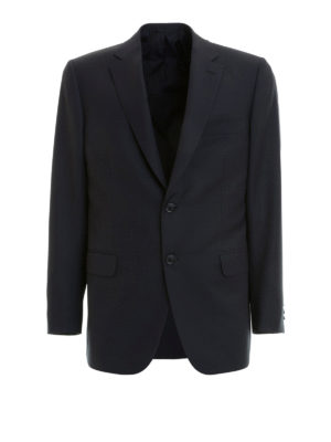 Brioni: blazers - Brunico two-buttons wool blazer