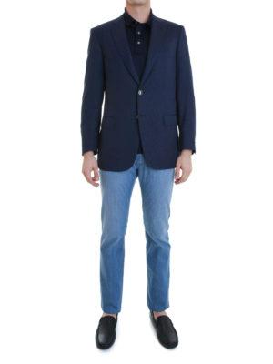 Brioni: blazers online - Colosseo wool blazer