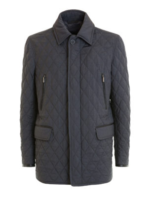 Brioni: casual jackets - Multi pocket quilted jacket