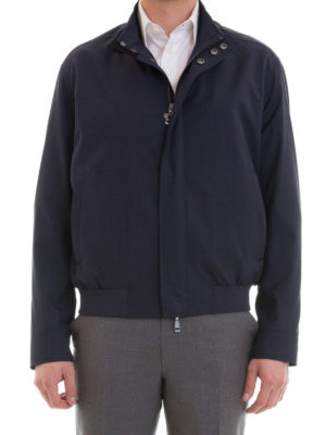 Brioni: casual jackets online - Bomber-inspired casual jacket