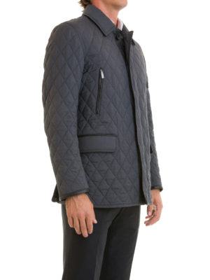 Brioni: casual jackets online - Multi pocket quilted jacket