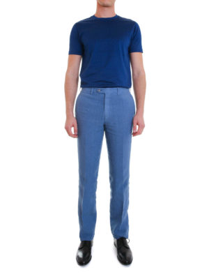 Brioni: casual trousers online - Linen trousers