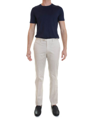 Brioni: casual trousers online - Megeve slim trousers