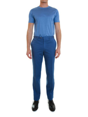 Brioni: casual trousers online - Stretch cotton chinos