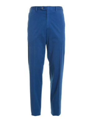 Brioni: casual trousers - Stretch cotton chinos