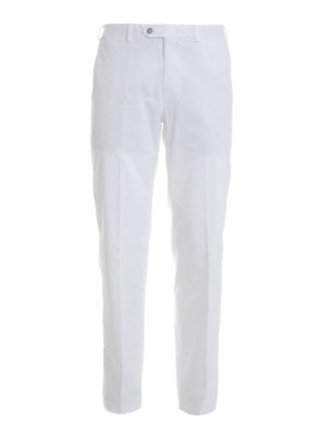 Brioni: casual trousers - Stretch cotton trousers