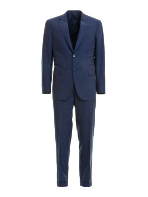 Brioni: formal suits - Brunico checked wool formal suit