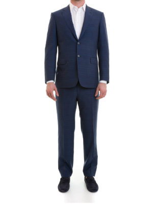Brioni: formal suits online - Brunico checked wool formal suit