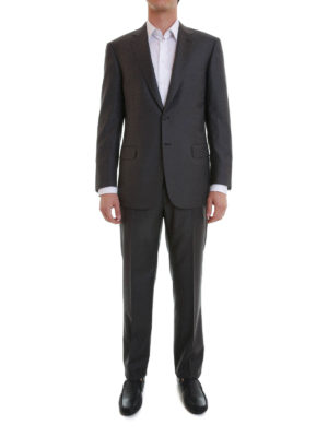 Brioni: formal suits online - Colosseo wool suit