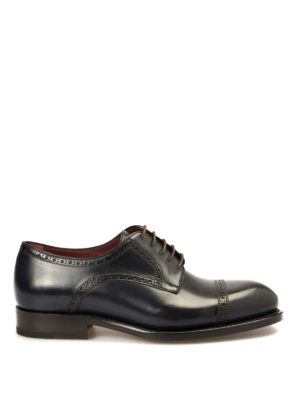 Brioni: lace-ups shoes - Milano Derby leather shoes