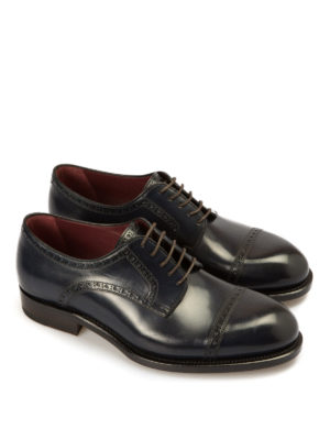 Brioni: lace-ups shoes online - Milano Derby leather shoes